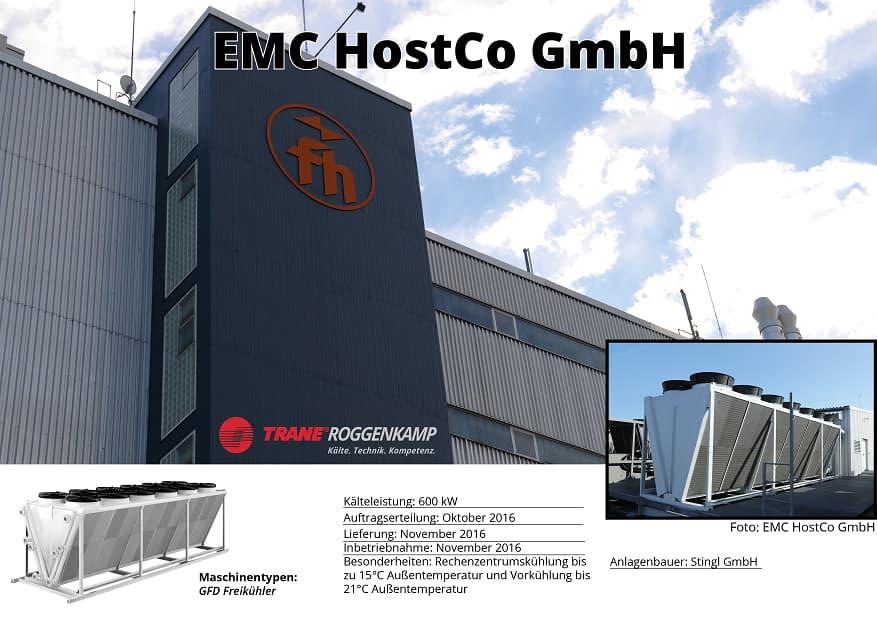 EMC HostCo GmbH - Klimatisierung Rechenzentrum